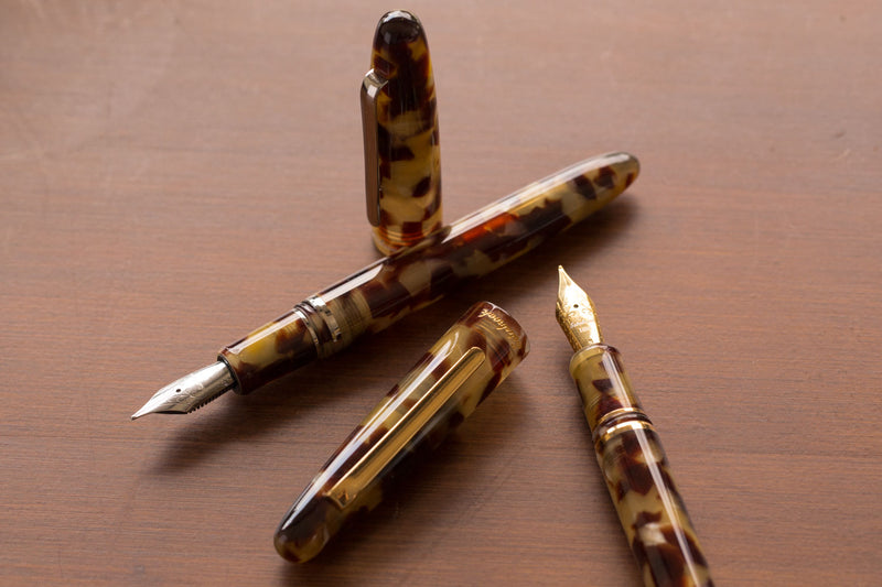 Esterbrook Estie Fountain Pen - Tortoise/Gold