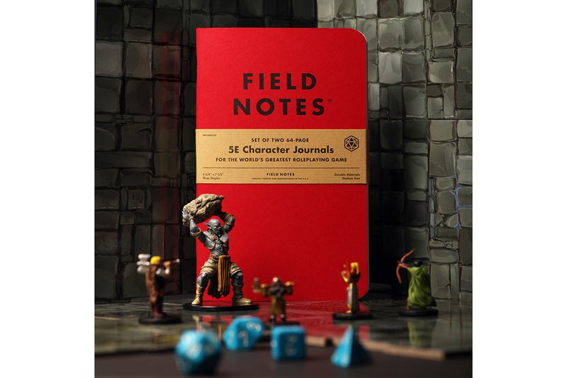 Field Notes Notebooks - 5E Character Journal