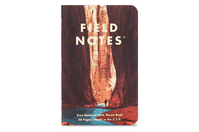 Field Notes Notebooks - National Parks Series A (Summer Edition 2019)