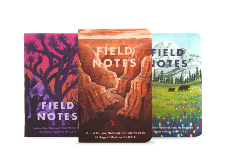 Field Notes Notebooks - National Parks Series B (Summer Edition 2019)