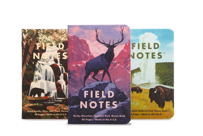 Field Notes Notebooks - National Parks Series C (Summer Edition 2019)