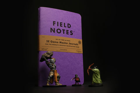 Field Notes Game Master Journals