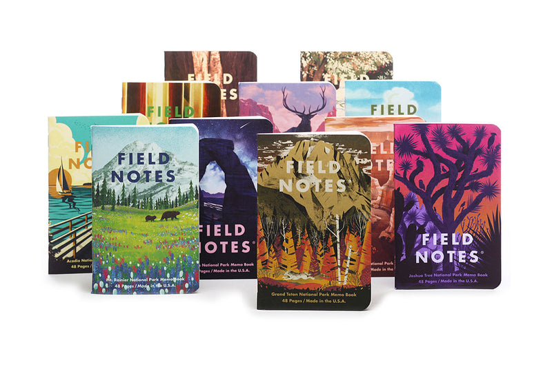 Field Notes Notebooks - National Parks Series D (Summer Edition 2019)