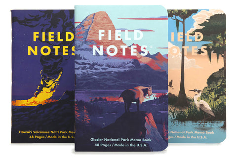Field Notes Notebooks - National Parks Series F