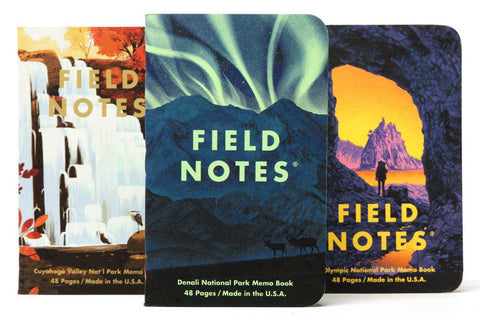 Field Notes Notebooks - National Parks Series E (Summer Edition 2019)