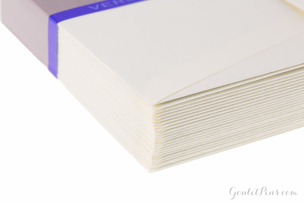 G. Lalo Vergé de France Small Envelopes - Ivory