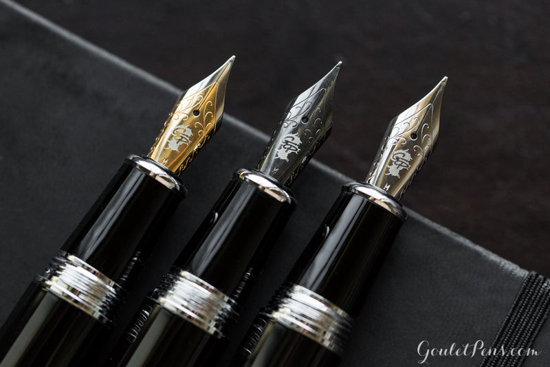 Goulet #6 Steel Nib - Black