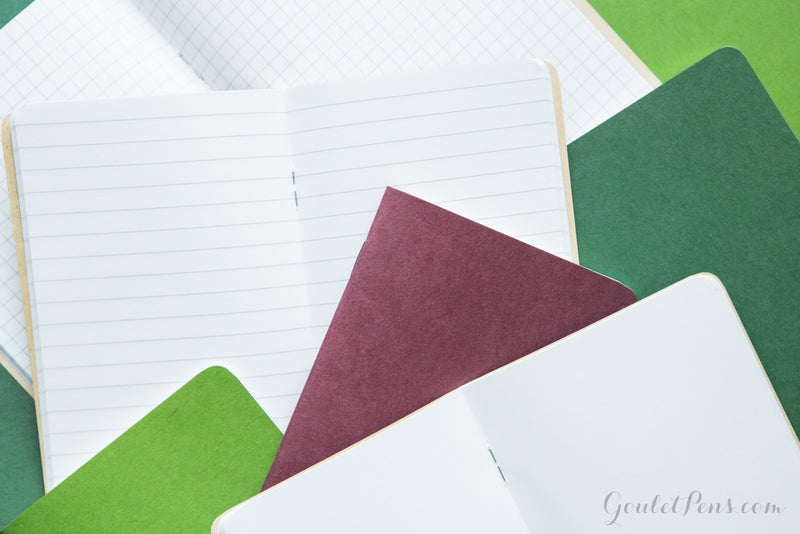Goulet Notebook w/ 52gsm Tomoe River Paper - A5, Lined (5.83 x 8.27)