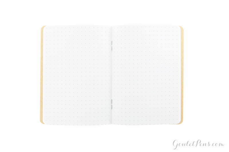 Goulet Notebook w/ 52gsm Tomoe River Paper - Pocket, Dot Grid (3.5 x 5.5)