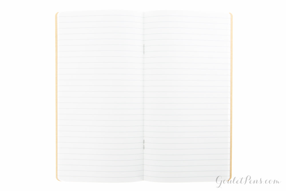 Goulet Notebook w/ 52gsm Tomoe River Paper - Regular TN, Lined