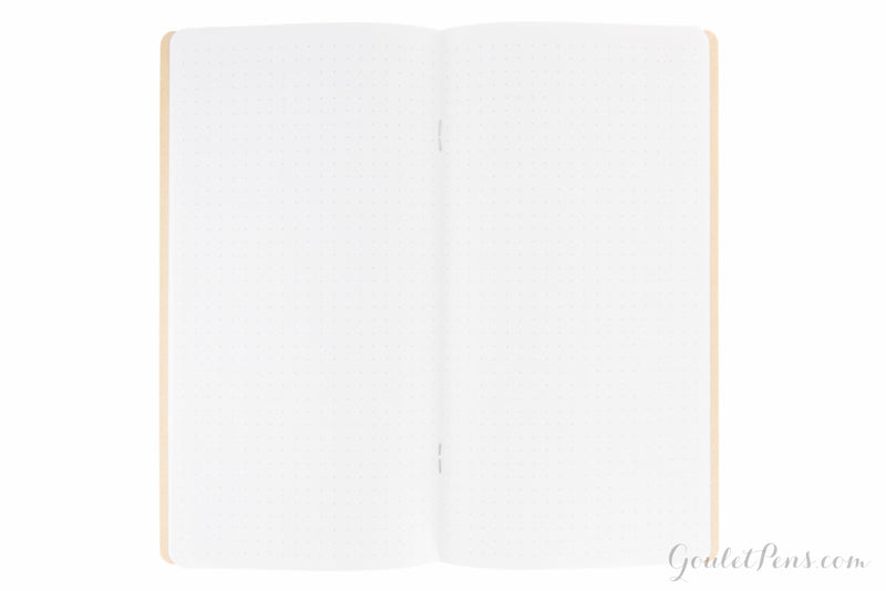 Goulet Notebook w/ 68gsm Tomoe River Paper - Regular TN, Dot Grid (4.33 x 8.25)