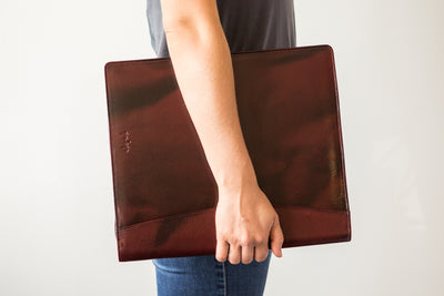 Girologio 48 Pen Case - Oxblood