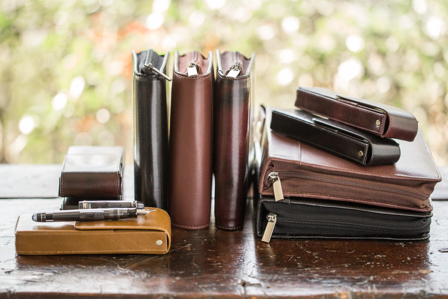 Girologio 24 Pen Case - Brown