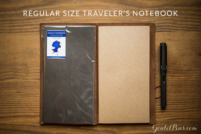 Goulet Notebook w/ 68gsm Tomoe River Paper - Regular TN, Lined (4.33 x 8.25)