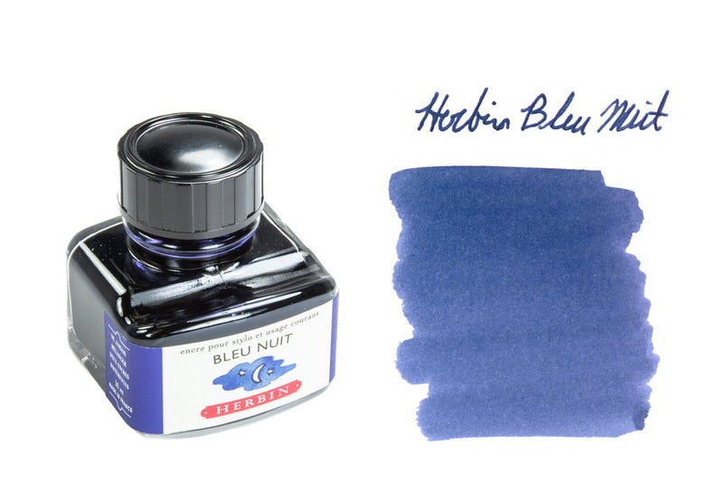 Herbin Bleu Nuit - 30ml Bottled Ink