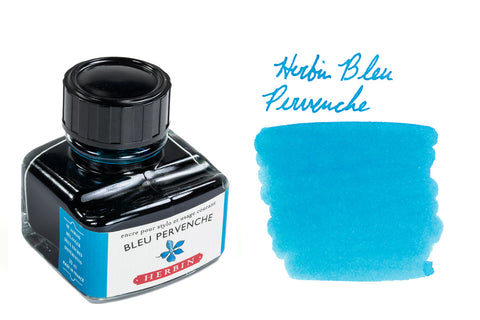 Herbin Bleu Pervenche - 30ml Bottled Ink