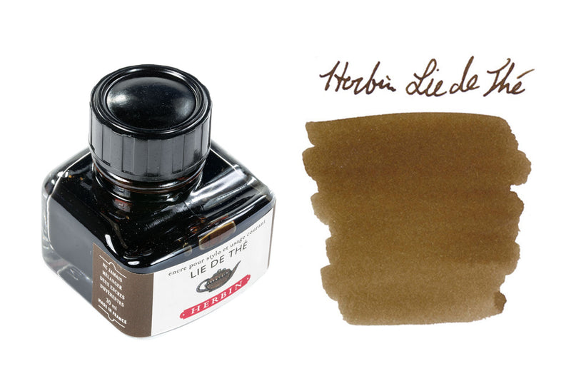 Herbin Lie de The - 30ml Bottled Ink
