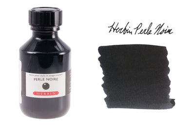 Herbin Perle Noire - 100ml Bottled Ink