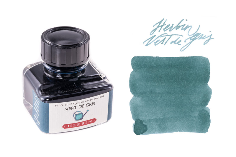 Herbin Vert de Gris - 30ml Bottled Ink