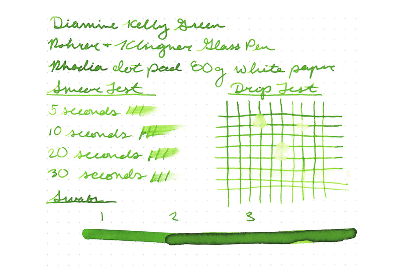 Diamine Kelly Green - 30ml Bottled Ink
