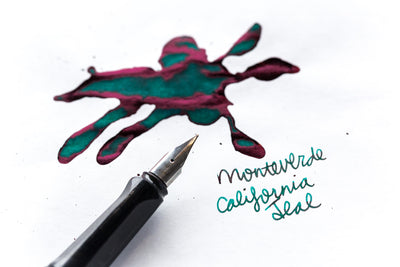Monteverde California Teal - Ink Sample