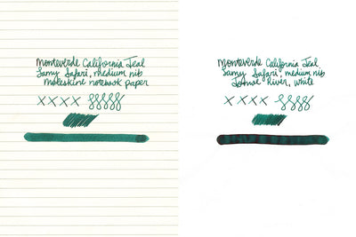 Monteverde California Teal - Ink Cartridges