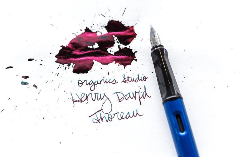 Organics Studio Henry David Thoreau Walden Pond - 55ml Bottled Ink