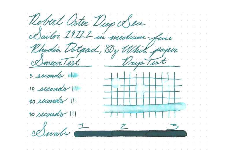 Robert Oster Deep Sea - 50ml Bottled Ink
