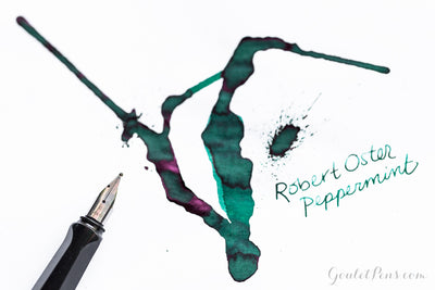 Robert Oster Peppermint - Ink Sample