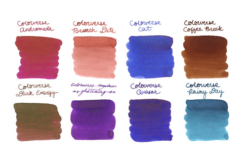 Colorverse Best Sellers - Ink Sample Set