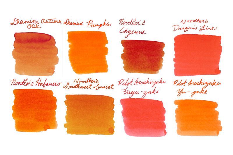 Orange Best Sellers - Ink Sample Set