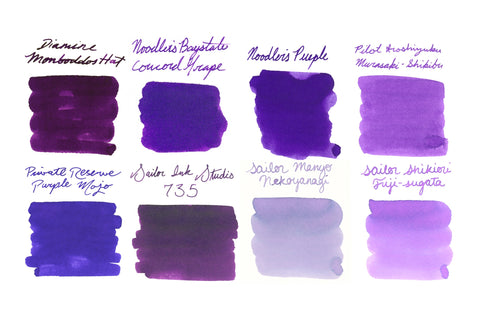 Bright & Light Purple Best Sellers - Ink Sample Set