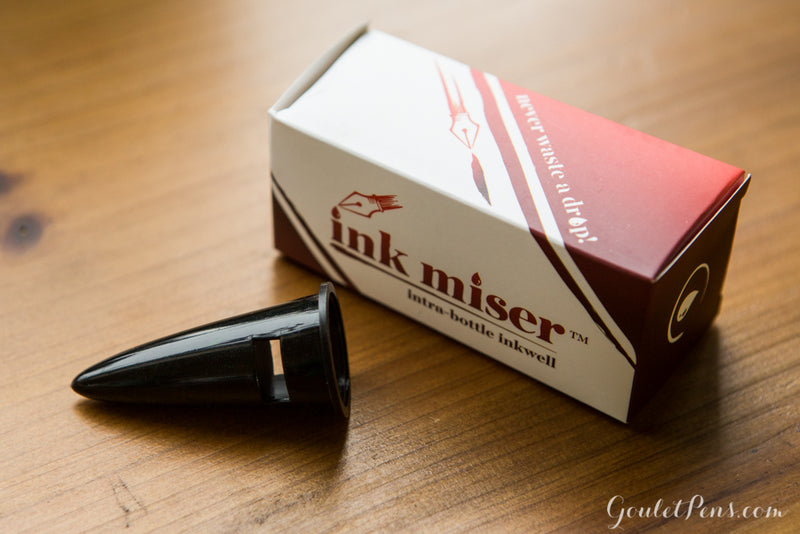 Ink Miser Intra-Bottle Inkwell, Black
