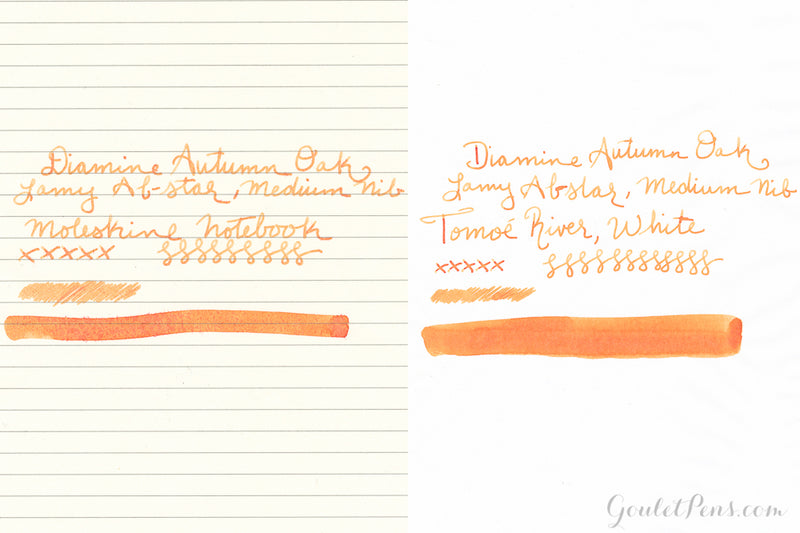 Diamine Autumn Oak - Ink Sample