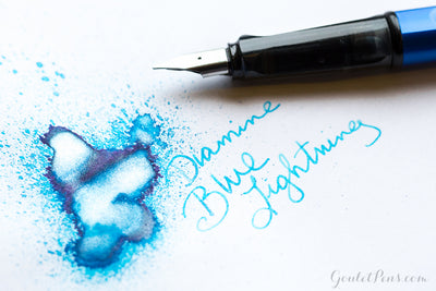 Diamine Blue Lightning - Ink Sample