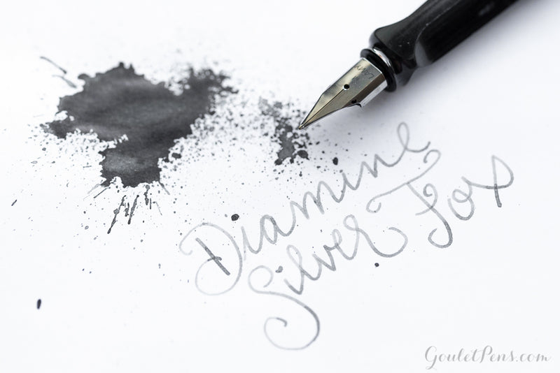 Diamine Silver Fox - Ink Sample