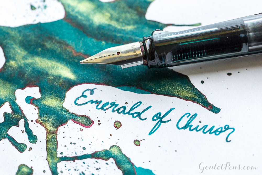 Jacques Herbin 1670 Emerald of Chivor - Ink Sample