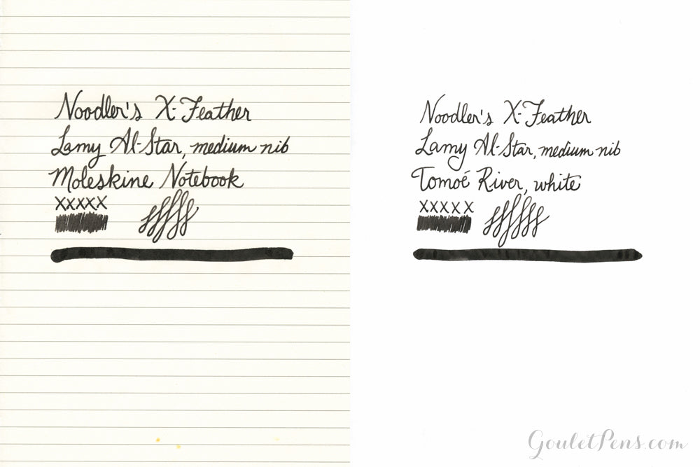 Noodler's X-Feather Black - 3oz Bottled Ink