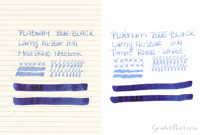 Platinum Blue-Black - Ink Cartridges