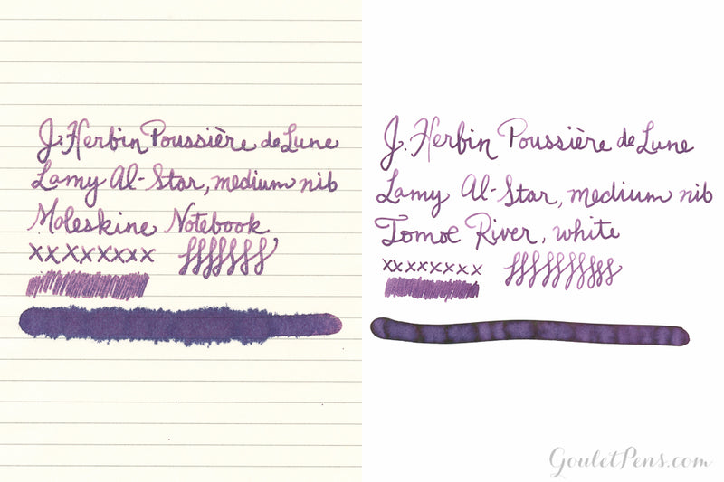 Herbin Poussiere de Lune - Ink Sample