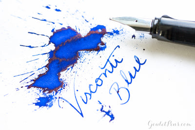 Visconti Blue - Ink Sample