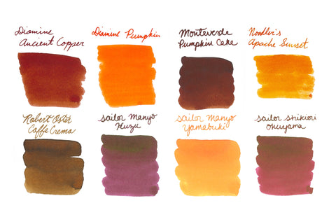 Fall Colors - Ink Sample Set