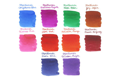 Monteverde Emotions Full Line - Ink Sample Set