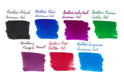 Noodler's Eel Series - Ink Sample Set