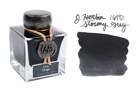 Jacques Herbin 1670 Stormy Grey - 50ml Bottled Ink
