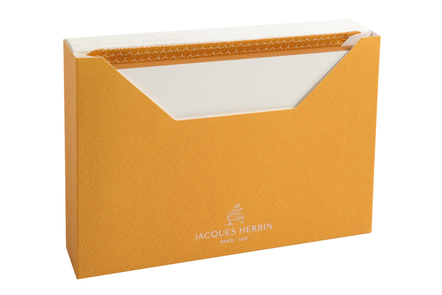 Jacques Herbin Stationery Set - Amber (C6)