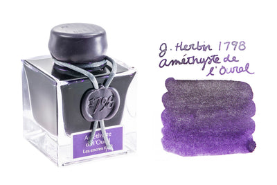 Jacques Herbin 1798 Amethyste de l'Oural - 50ml Bottled Ink