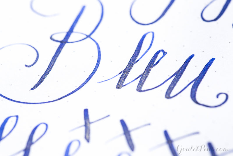 Jacques Herbin 1670 Bleu Ocean - Ink Sample