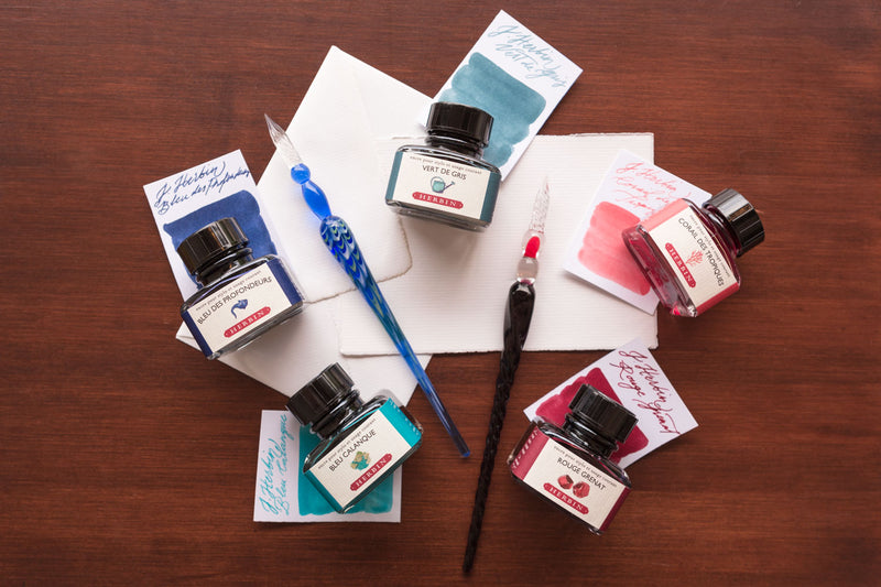 Herbin Bleu Calanque - 30ml Bottled Ink
