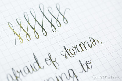 J. Herbin 1670 Stormy Grey - Ink Sample